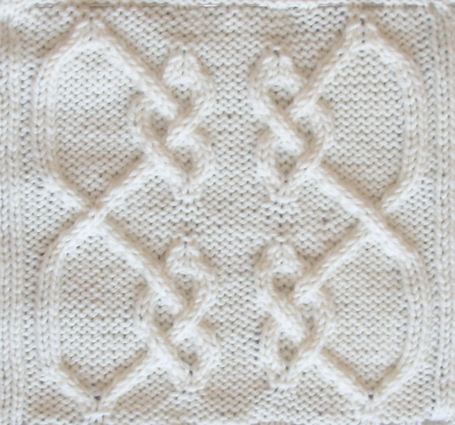 Ivanova and Carter Knit: Celtic Knot Project Installment #3