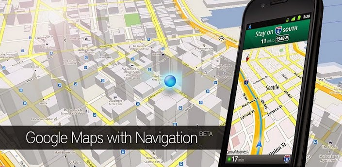 Google Map With Navigation
