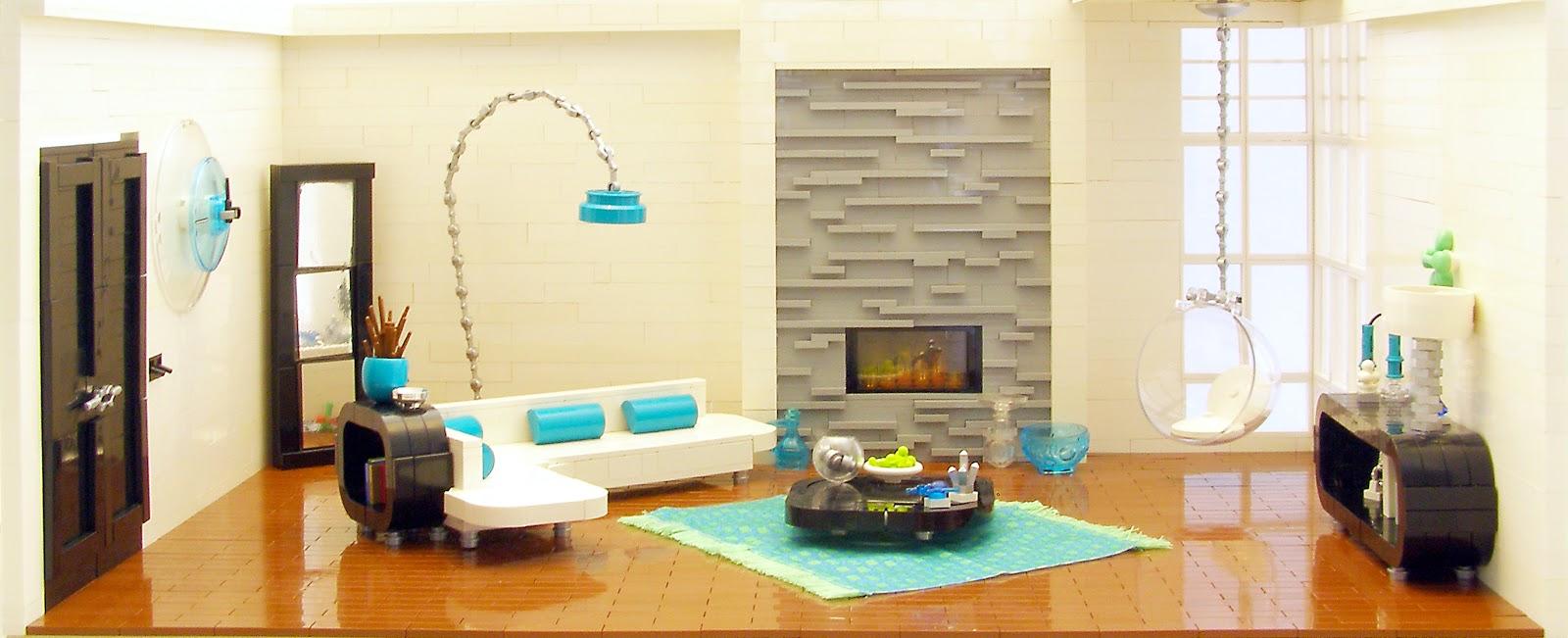 The Brickverse: Amazing Lego interiors
