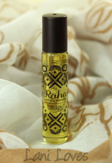 Trilogy Raha Natural Perfume Review