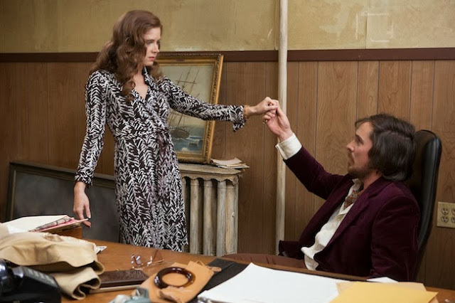 wrap dress american hustle