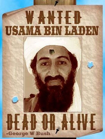 Back to Bush and Bin laden. death of Osama Bin Laden,