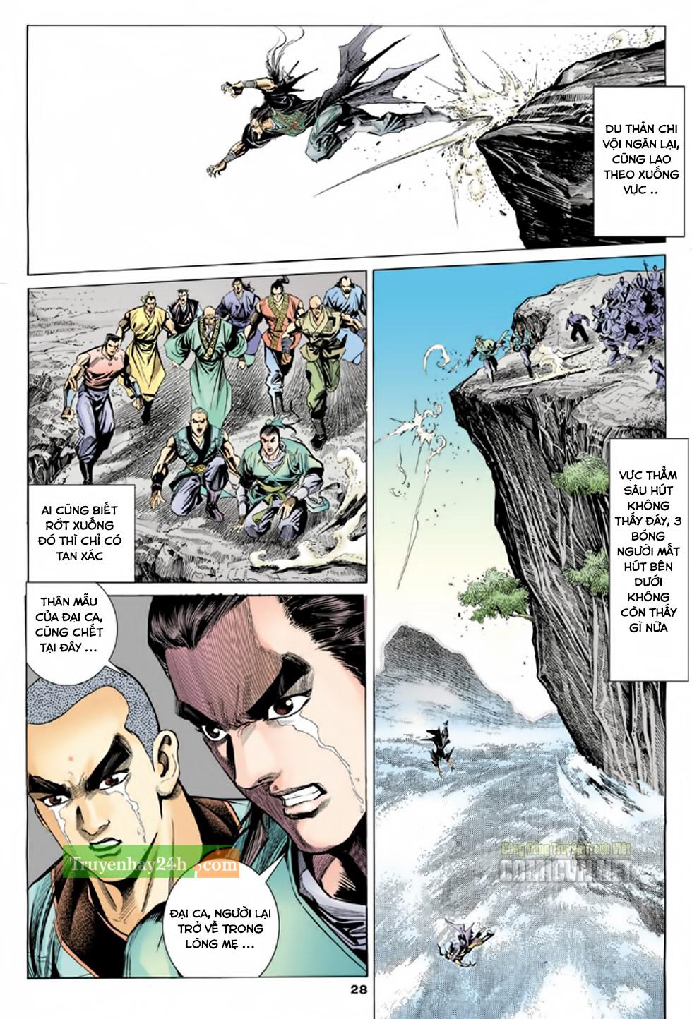 Thiên Long Bát Bộ chap 100 – End Trang 29 - Mangak.info
