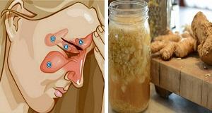 Cómo-deshacerse-de-la-congestión-nasal-y-la-presión-en-los-senos-utilizando-sólo-dos-Ingrediente