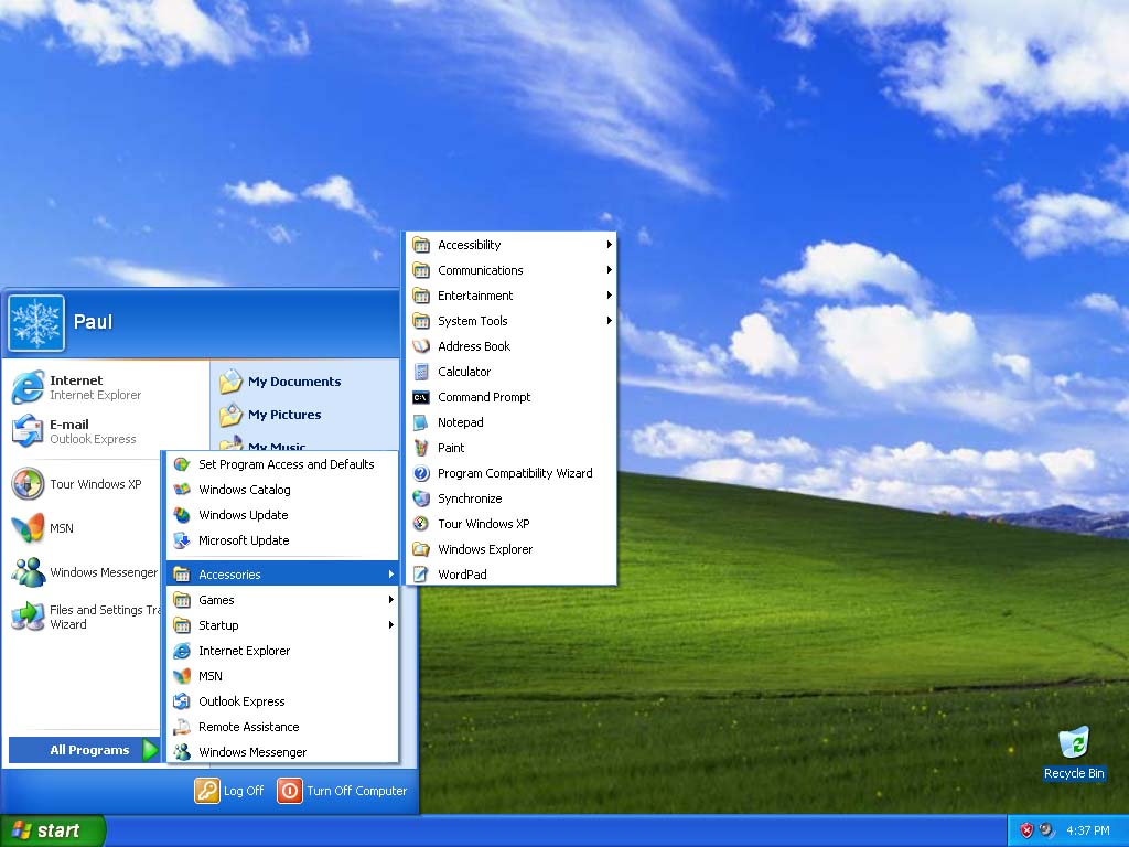 Windows XP Professional SP3 (x86)
