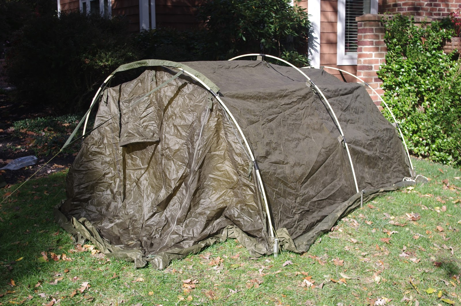 The tent has openings on both ends with the option at one end of the tent to connect two of these tents together end to end. & Surviving the Worst of Mother Nature in British Style: Looking for ...