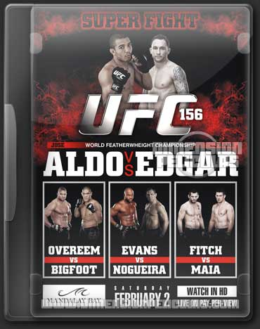 Ultimate Fighting Championship UFC 156 (HDTV Inglés) (2013)