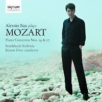Alessio Bax, Mozart piano concertos no. 24, 27; Southbank Sinfonia, Simon Over, SIGNUM SIGCD 321