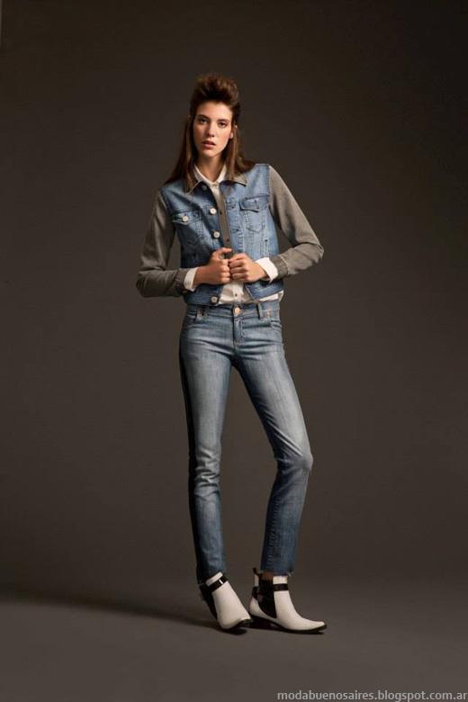 Desiderata invierno 2014. Moda jeans otoño invierno 2014.