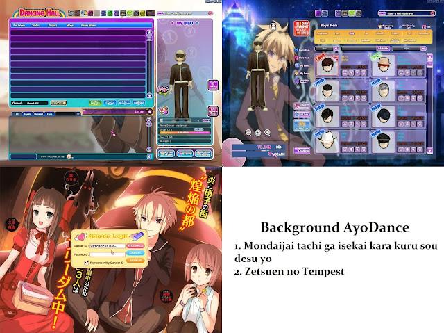 Background Mondaijai tachi ga isekai kara kuru sou desu yo dan  Zetsuen no Tempest