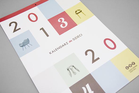 Kalednarz dla dzieci 2014 - Łódź Design Festival