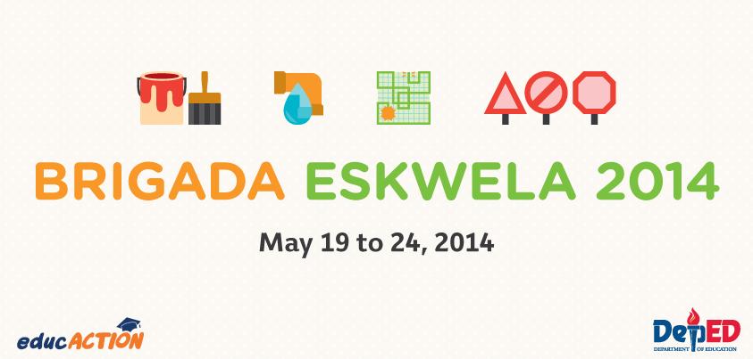 DepEd Brigada Eskwela 2014