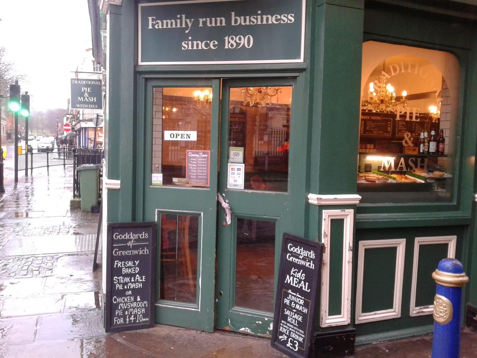 Pie & Mash shop