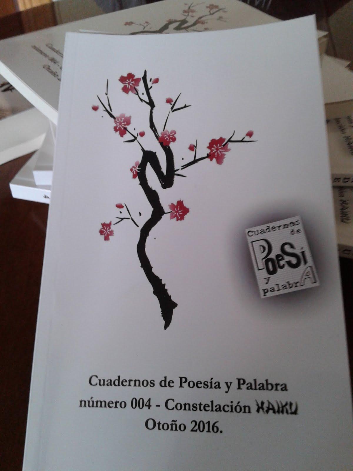 Cuadernos de Poesía y Palabra - Constelación HAIKU - Novbre. 2016