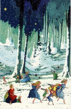 """Ulubiona """"elfowa"""" pocztówka"""