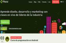 Platzy: cursos online de programación, diseño y marketing