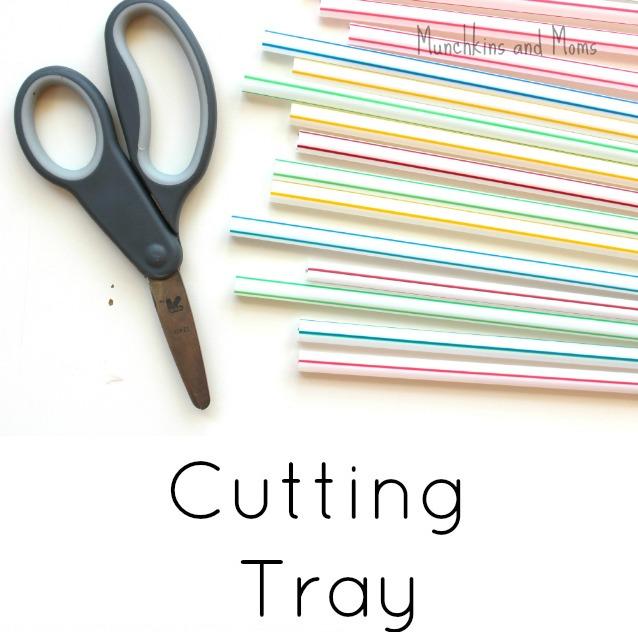 straw cutting tray