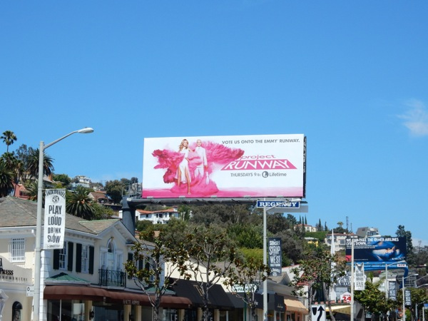 Project Runway season 14 Emmy billboard