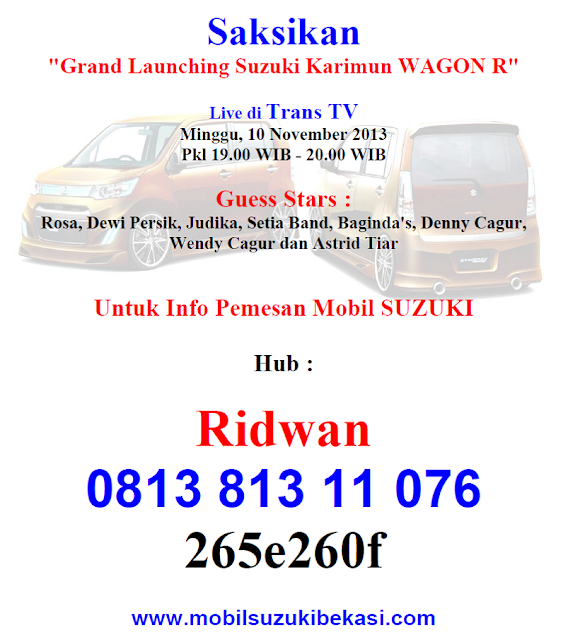 Grand Launching Wagon R