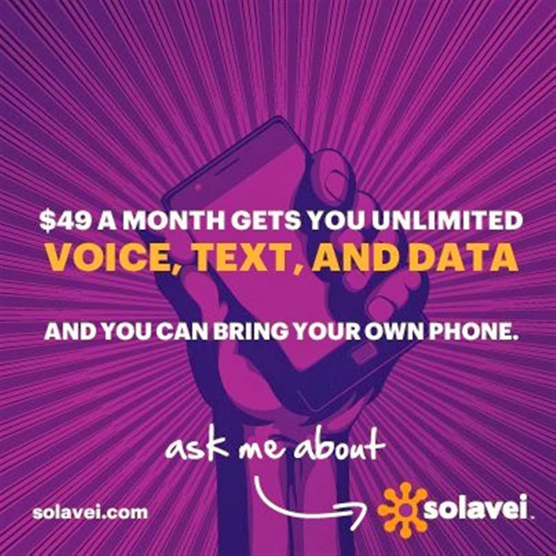Unlimited Voice Text and 4G