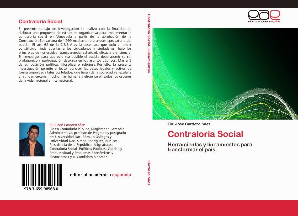¡Nuevo Libro de Contraloría Social!
