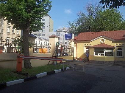 Проходная Института Хирургии им. Вишневского - взгляд изнутри