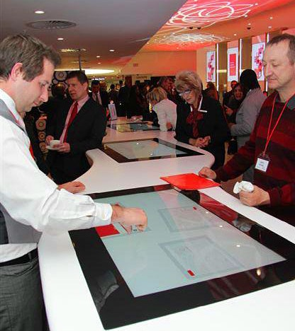 Table Surface dans l'agence ABSA