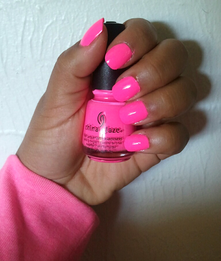"Bright Pink Nail Polish Colors: *: Nail Polish: ""Shocking Pink (Neon)"""