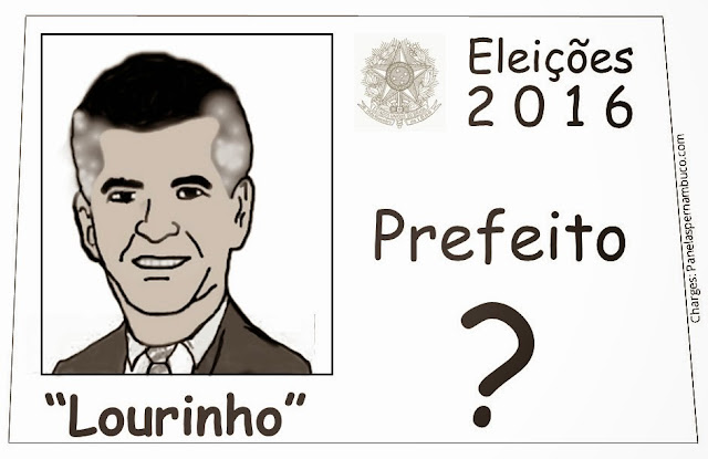 """""""Lourinho para prefeito""""?"""