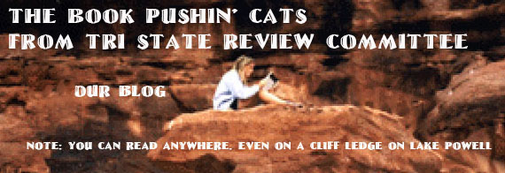 Book Pushin' Cats Blog logo