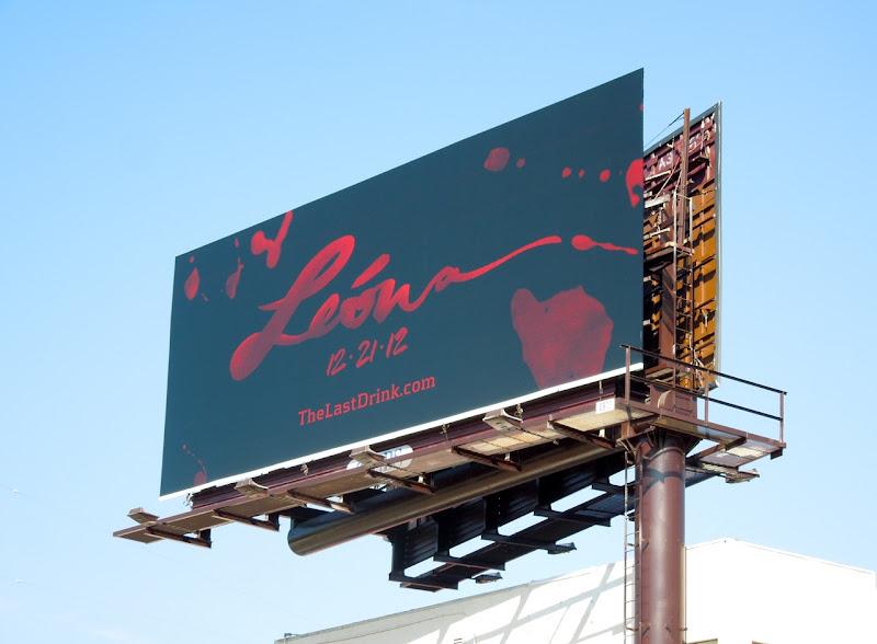 Leona Tequila billboard
