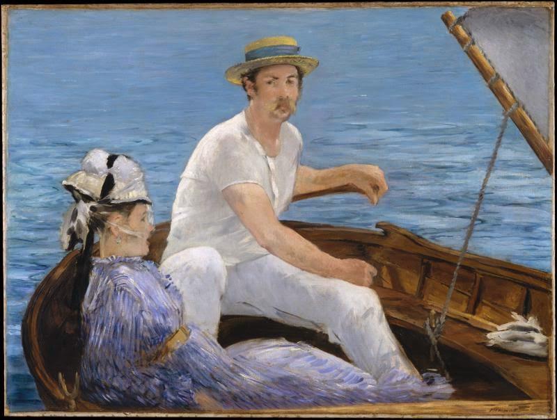 Boating -Édouard Manet, πίνακας στο MET N.Y.
