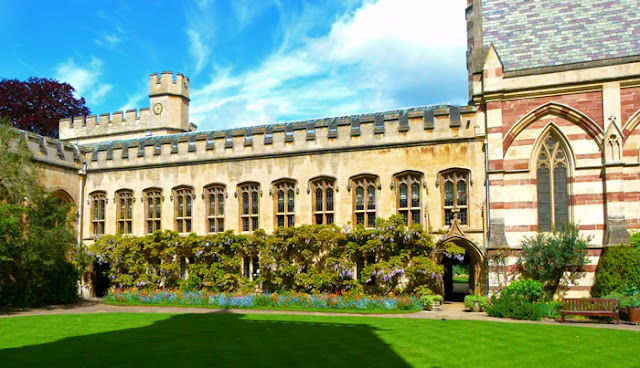 Balliol, Oxford, Front Quad, Common Room, Library, Chapel