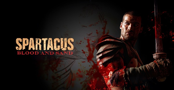Spartacus: Andy Whitfield, blood and sand, espártaco
