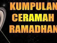 Kumpulan Kultum Ramadhan 2013 Lengkap