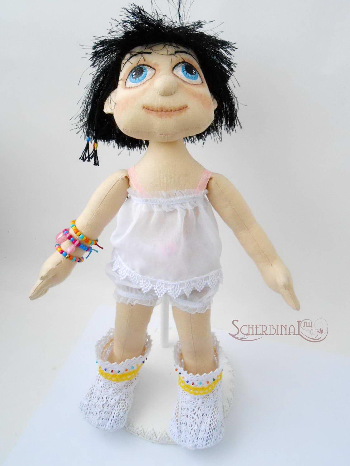 трусики для куклы своими руками, мастер класс