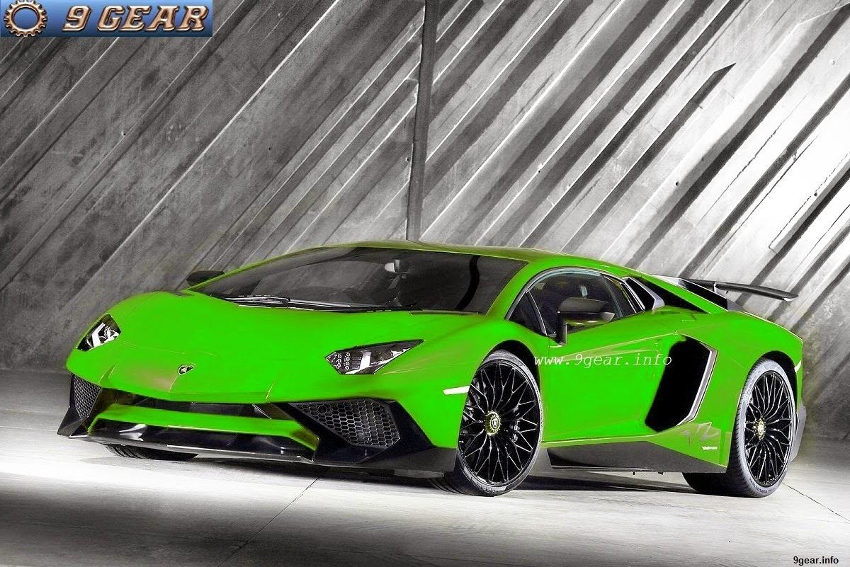 2016 Lamborghini Aventador LP750-4 SV, 750 hp Car