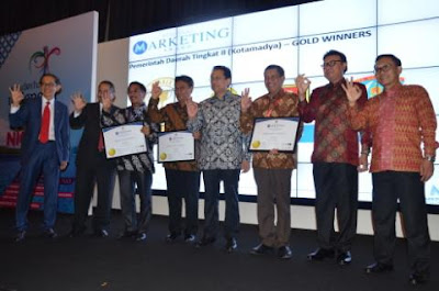 Banyuwangi raih Gold Regional Marketing Award 2015.