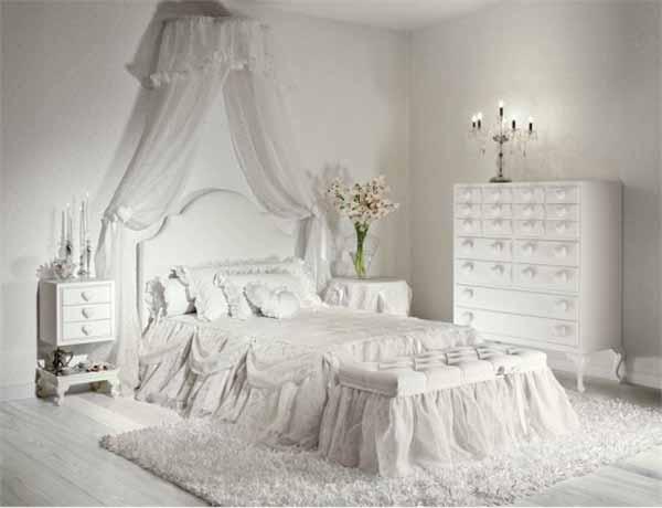Emejing Chambre Rustique Blanc Pictures - ansomone.us - ansomone.us