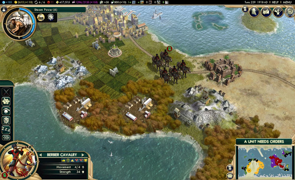 Screen Shot Of Sid Meier's Civilization V Brave New World (2013) Full PC Game Free Download At Downloadingzoo.Com