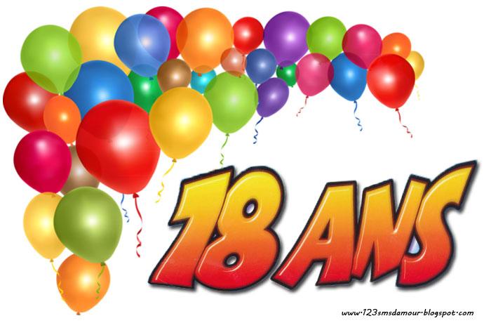 texte anniversaire 18 ans - Anniversaire 18ans