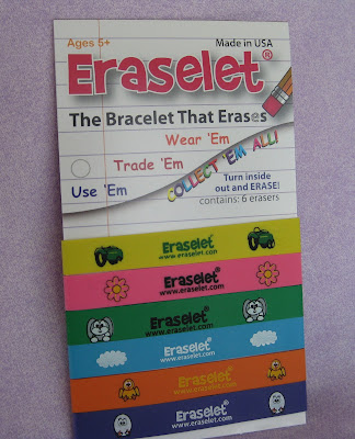Eraselet, Erasable Bracelet, Erase World Hunger, Childrens Gift