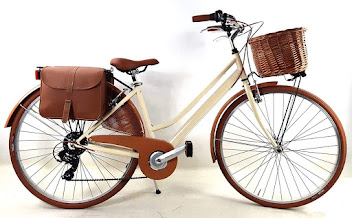 Bicicleta Mujer Vintage Crema 450 €