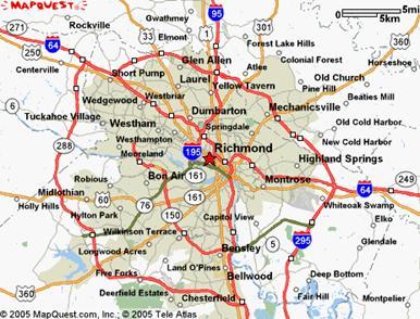 Richmond Map Region Political  Map Of London Political
