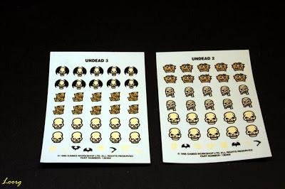 Calcas de la caja de Regimiento de Esqueletos