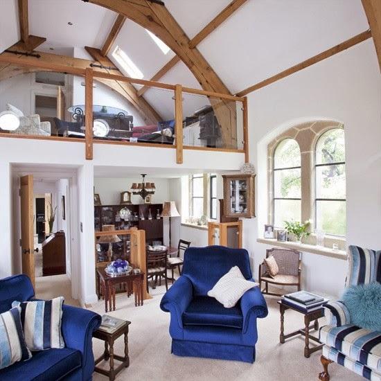 desain ruang keluarga tradisional yang sederhana desain