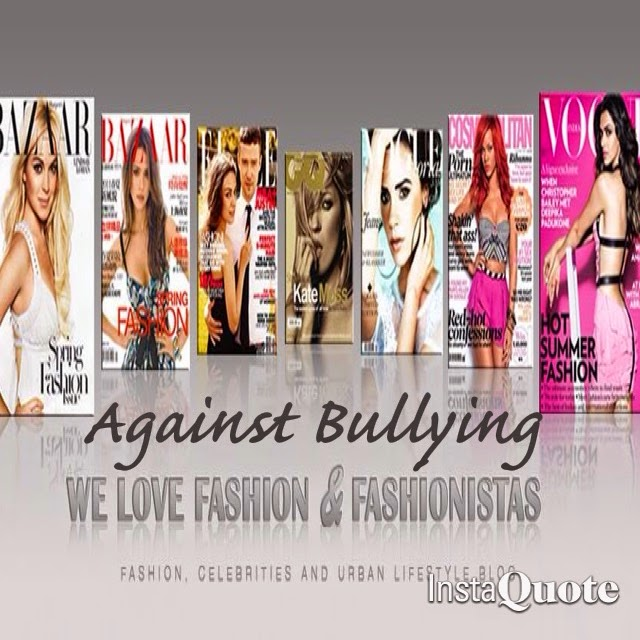 MY BLOG AND I ARE AGAINST BULLYING