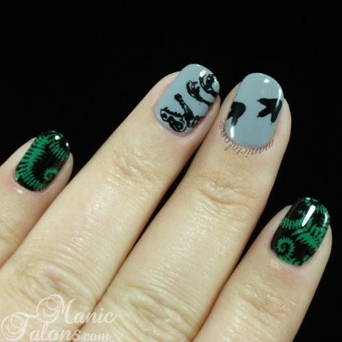 Mani with Messy Mansion MM47 - the Dinosaur Plate