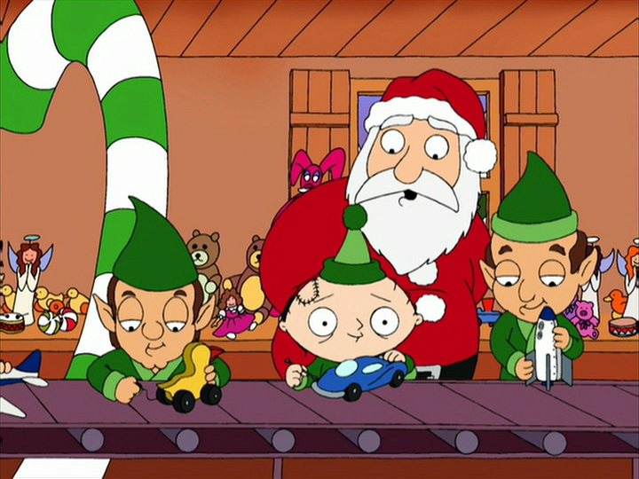From the Archive: A British Television Blog: A Family Guy Christmas!