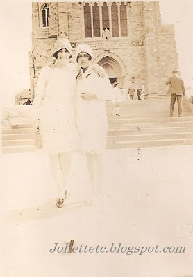 Velma Davis Woodring and Olive Williams, Mercersburg, PA August 1928